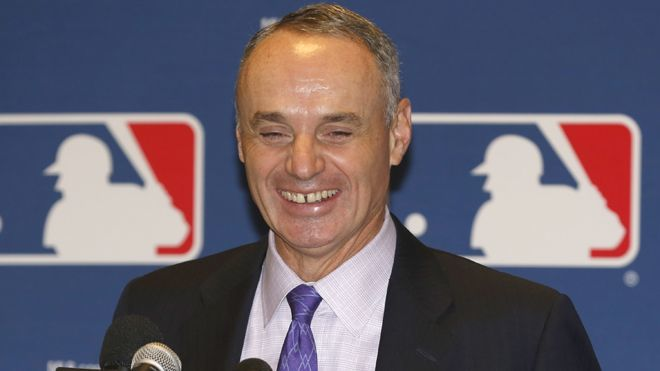 MLB Rob Manfred sports betting