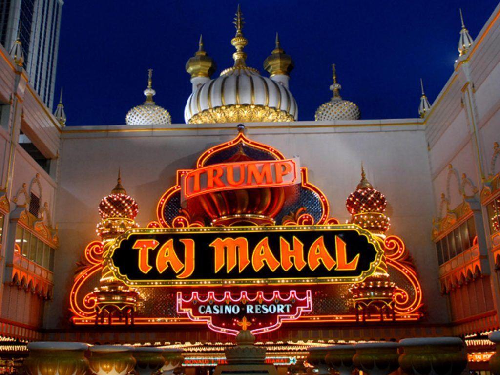 Trump Taj Mahal name agreement