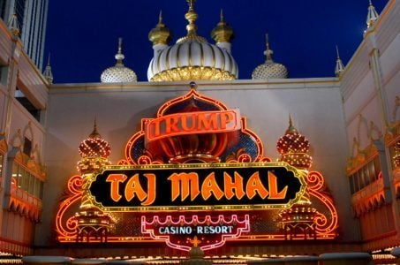 Trump Taj Mahal name agreement
