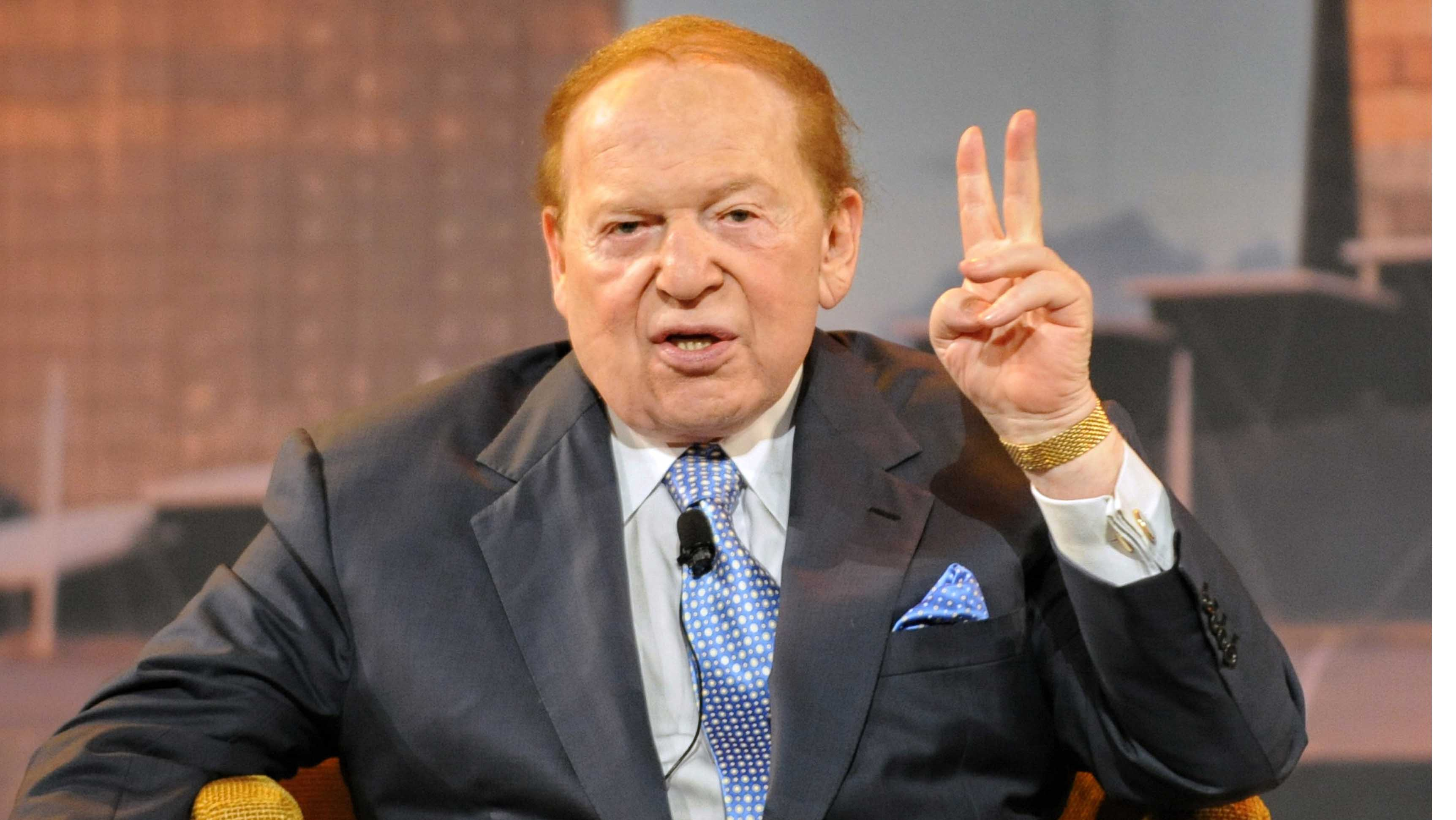 Sheldon Adelson GOP 2016
