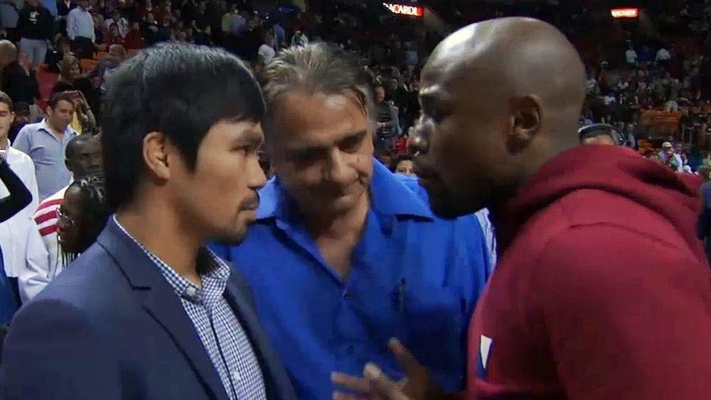 Mayweather Pacquiao fight betting Vegas