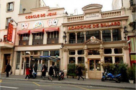 Cercle Clichy, Montmatre, Paris.