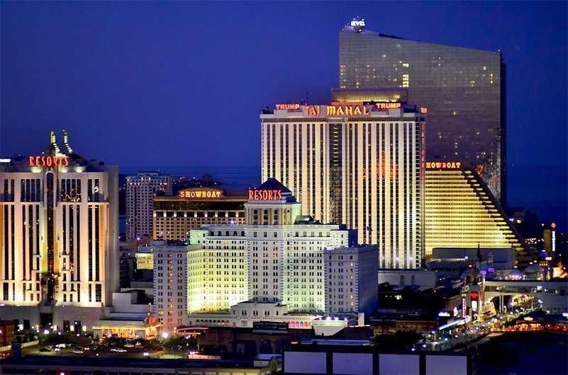 Atlantic City casinos profits up