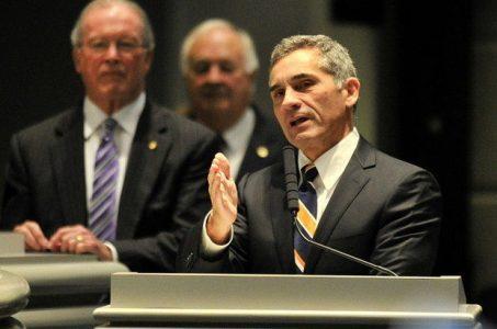 Republican Senate President Pro Tem Del Marsh, Alabama lottery / casino bill