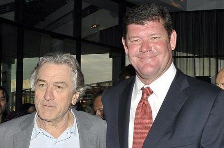 James Packer, Robert De Niro, Macau revenue slump, Nobu Manila