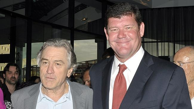 James Packer, Robert De Niro, Macau revenue slump, Nobu Manila