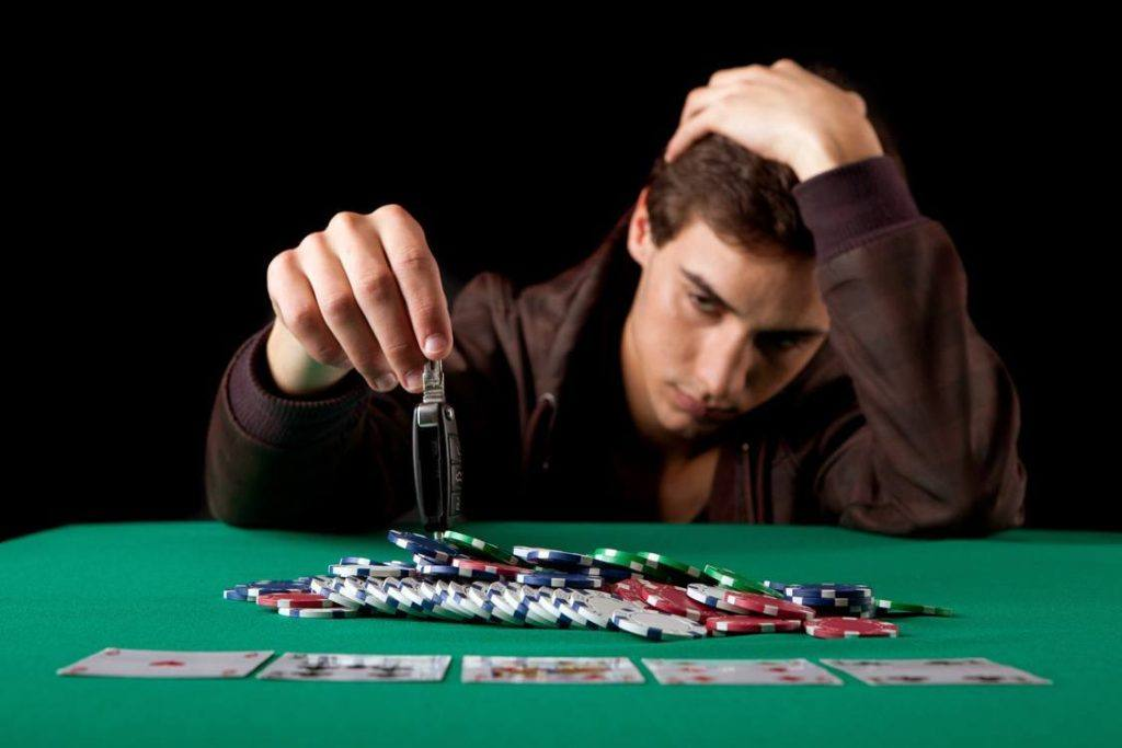 Gambling issues depression link study