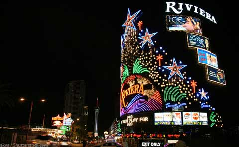Riviera shutdown leaves sixty year legacy of vegas history for Riviera resort las vegas