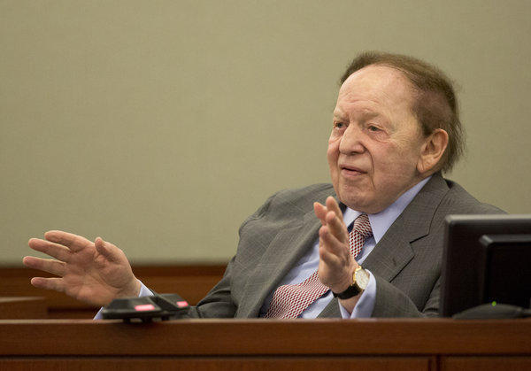 Sheldon Adelson Sands lawsuit Macau