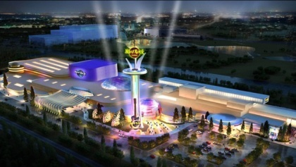Hard Rock Casino Meadowlands, artist's rendering