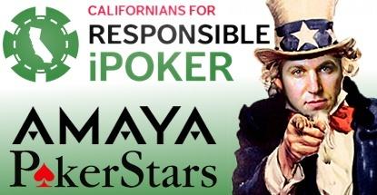 Californians for Responsible Poker PokerStars coalition