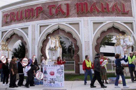 Carl Icahn Taj Mahal Atlantic City union conflict