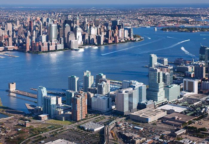 North New Jersey casino expansion bill, Jersey City view of Manhattan