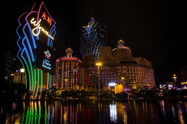 Macau casinos May revenues down Wynn
