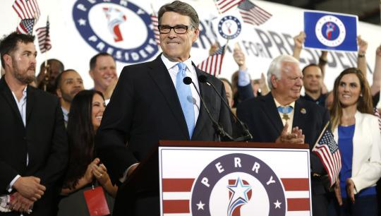 Rick Perry GOP 2016 presidential race