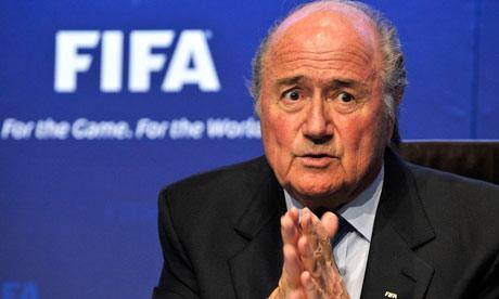 Sepp Blatter resigns FIFA president