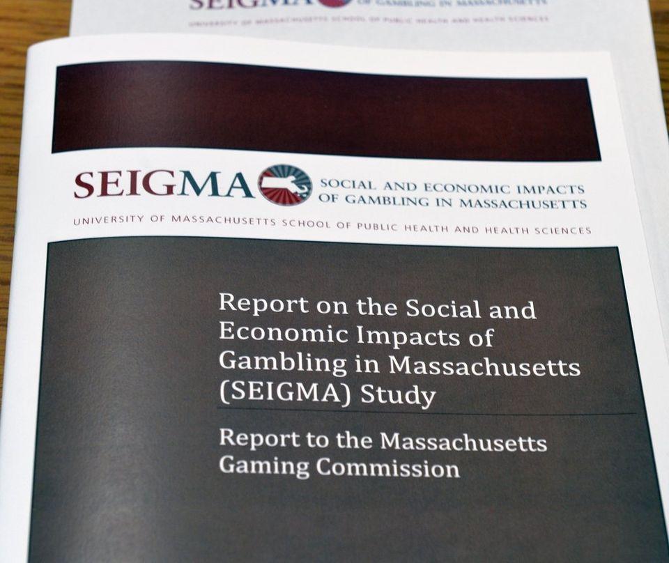 UMass Amherst gambling study Massachusetts