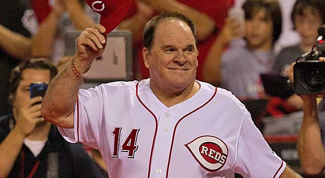 Pete Rose baseball bets player