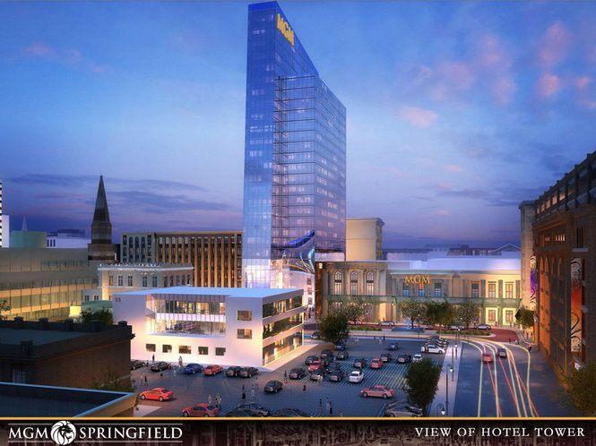 MGM Springfield, Massachusetts, Connecticut casino bill