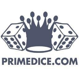 Prime dice logo, bitcoin gambling, cheating scam