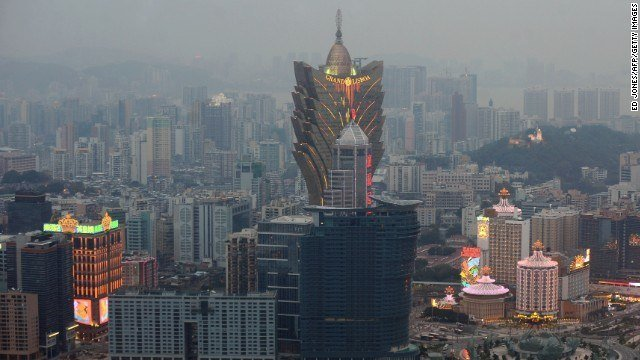 Macau revenues June 2015 down