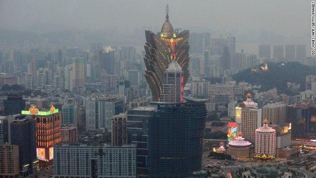 Macau revenues June 2015 down