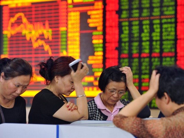 China stock market decline Macau