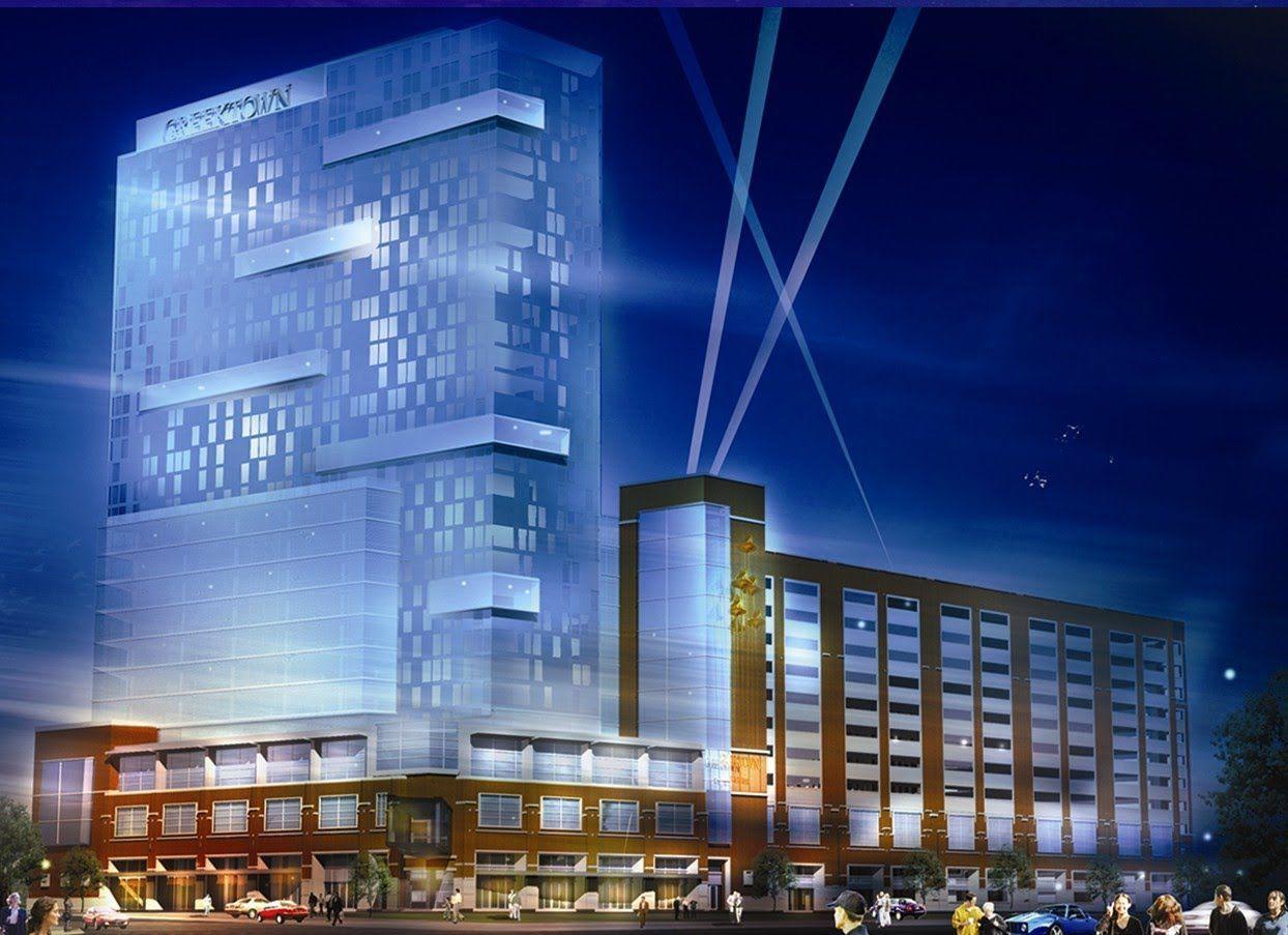Detroit casino revenues up bankruptcy