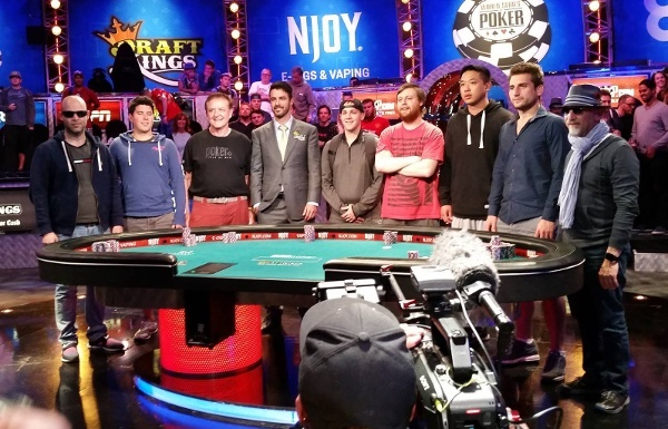World Series of Poker November Nine 2015