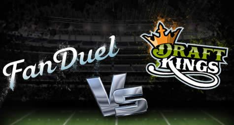Daily fantasy sports Yahoo DraftKings FanDuel online gambling