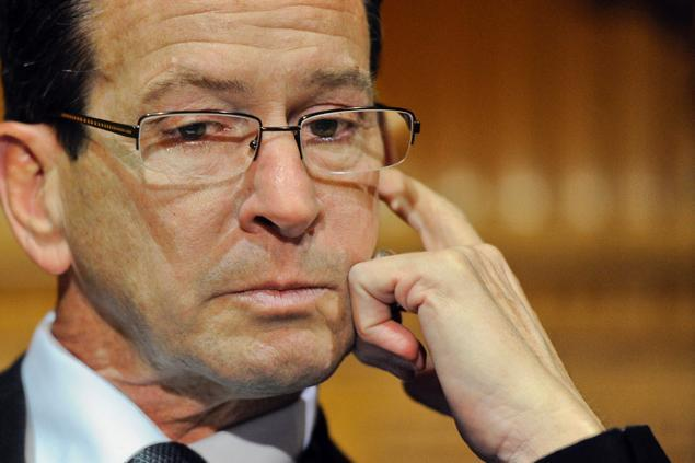 Connecticut Governor Danell P. Malloy, who is named in the MGM lawsuit claiming that Connecticut's new hastily passed casino bill is unconstitutional. (Image: thehealystrategy.com)