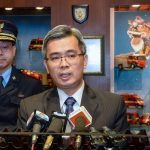 Macau secretary for security Wong Sio-chak