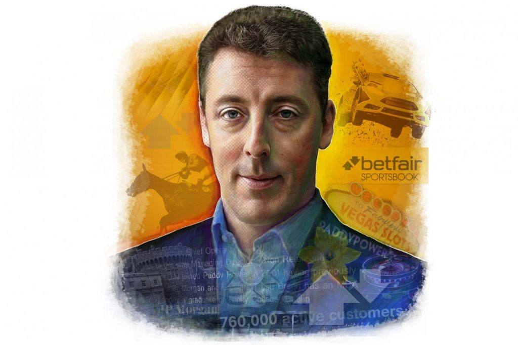 Paddy Power Betfair CEO Breon Corcoran