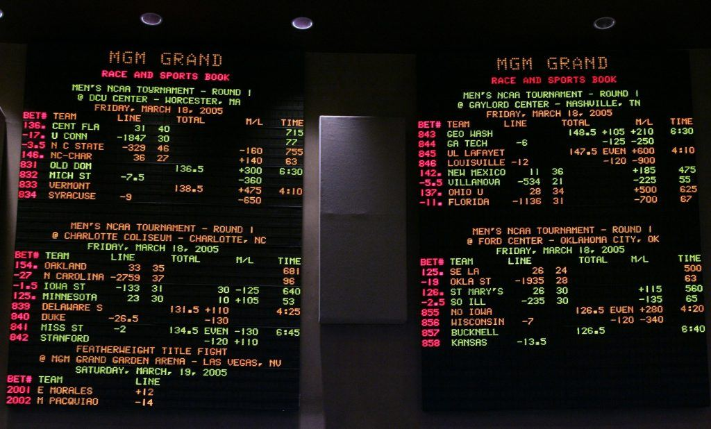 New Jersey sports betting case