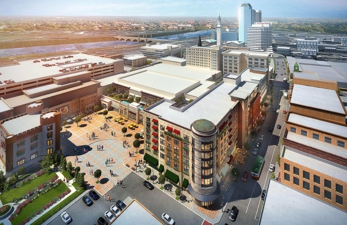 MGM Springfield new design hotel