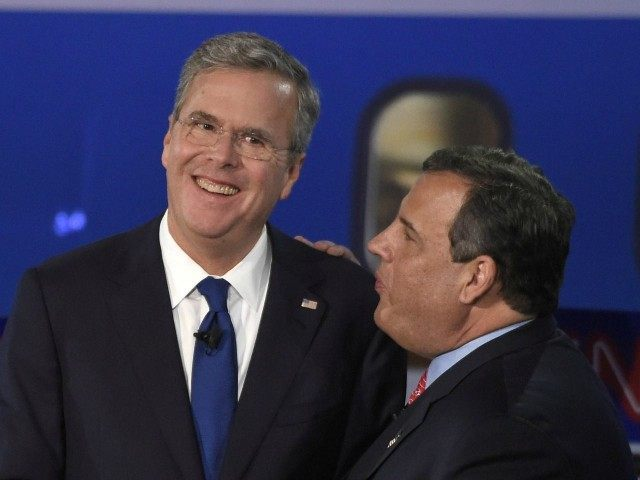 DSF GOP debate Jeb Bush Chris Christie