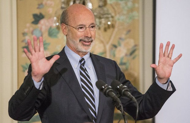 Pennsylvania online gambling Governor Tom Wolf