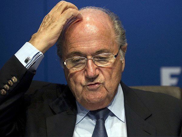 FIFA president Sepp Blatter corruption soccer football World Cup