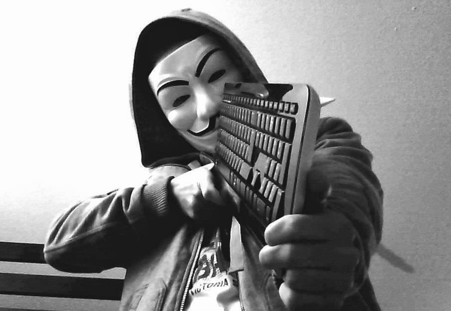 Anonymous goes after Paris terrorists