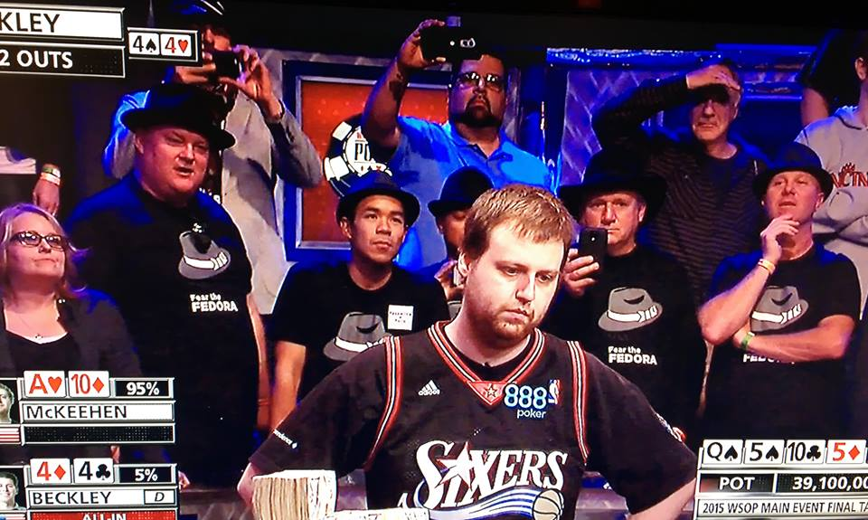Joe McKeehen Wins WSOP 2015 Main Event