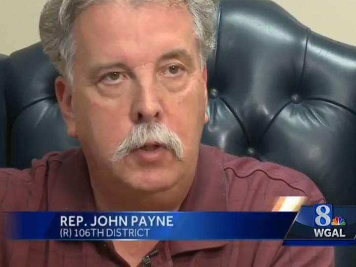 Pennsylvania State Rep. John Payne and DFS