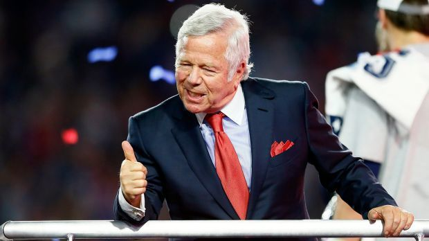 DFS stakeholder: New England Patriots owner Robert Kraft holds equity in DFS site DraftKings. (Image Kevin C. Cox / Getty NA)