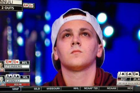 Thomas Cannuli November Nine WSOP 2015