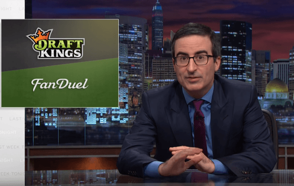 John Oliver daily fantasy sports
