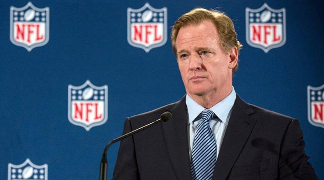 Roger Goodell NFL daily fantasy sports