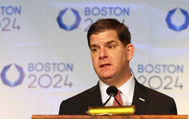 Massachusetts gambling Boston Mayor Walsh