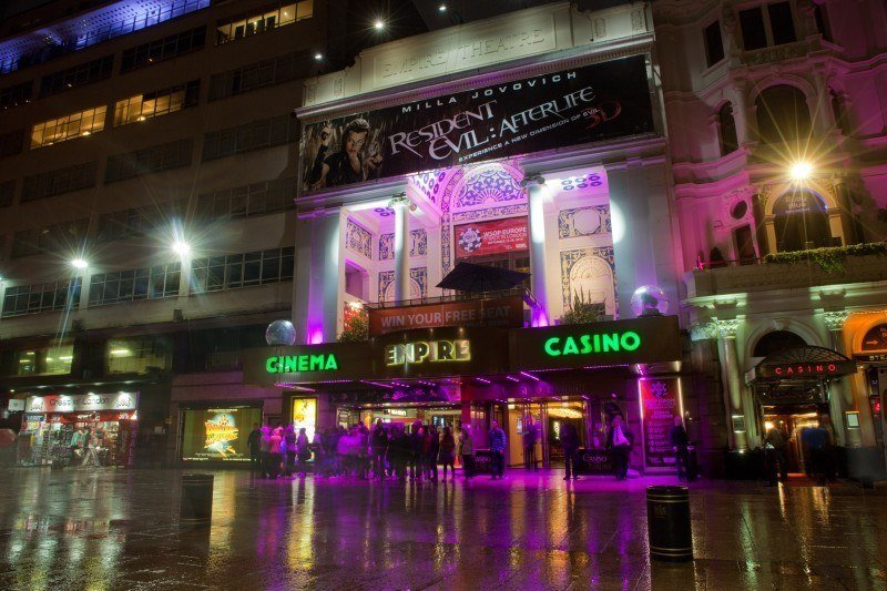 Caesars London casinos reprimanded UKGC