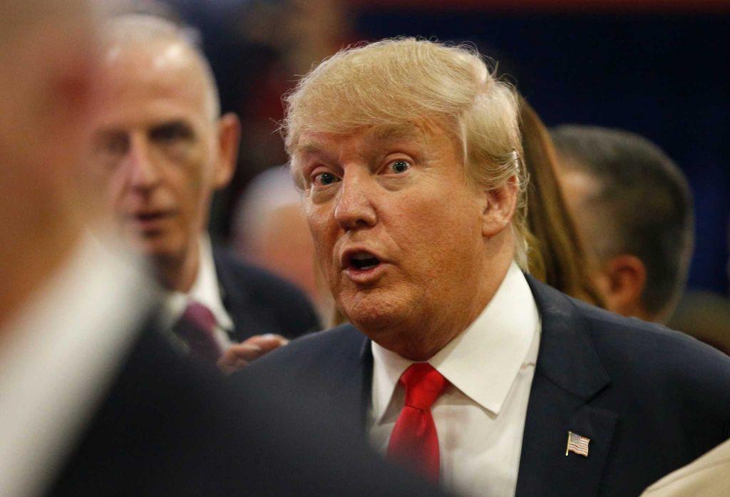 Donald Trump GOP debate Venetian Las Vegas