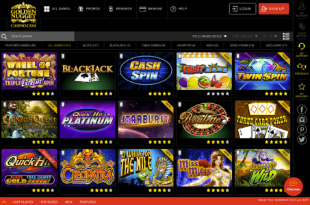 Golden Nugget online casino NYX NJ