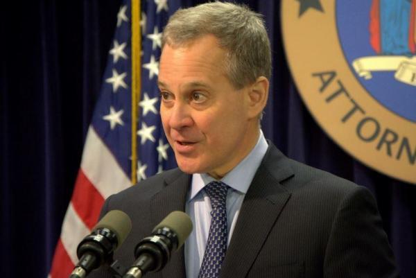 New York Attorney General Eric Schneiderman DFS investigation